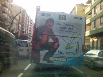 Lo he visto en un autobús