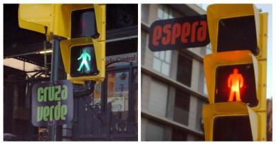 Campaña para entender un semáforo