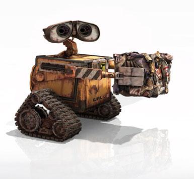 Wall·e y los cortos de Pixar