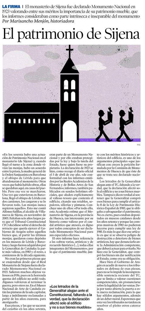 El patrimonio de Sijena